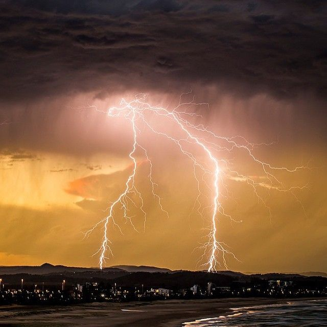 """""""Summer storms in East Coast of Australia, photo by @seanscottphotography"""""""