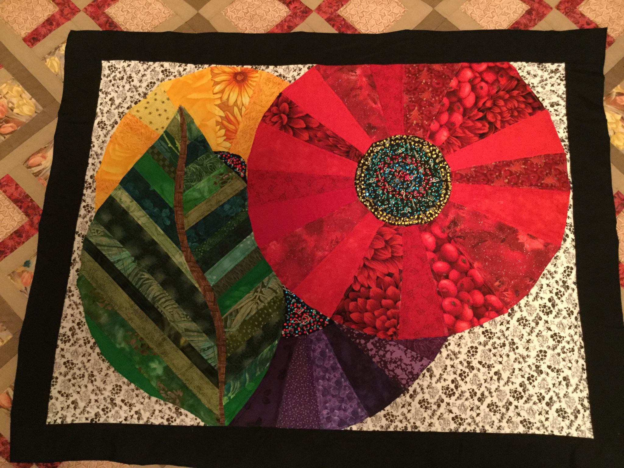 Pattern by Juanita Yeager. Designed and quilted by me.