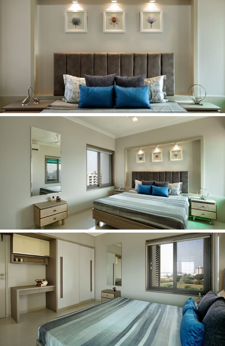 bhk interior design also contemporary house with  simple layout bed rooms bedroom rh pinterest