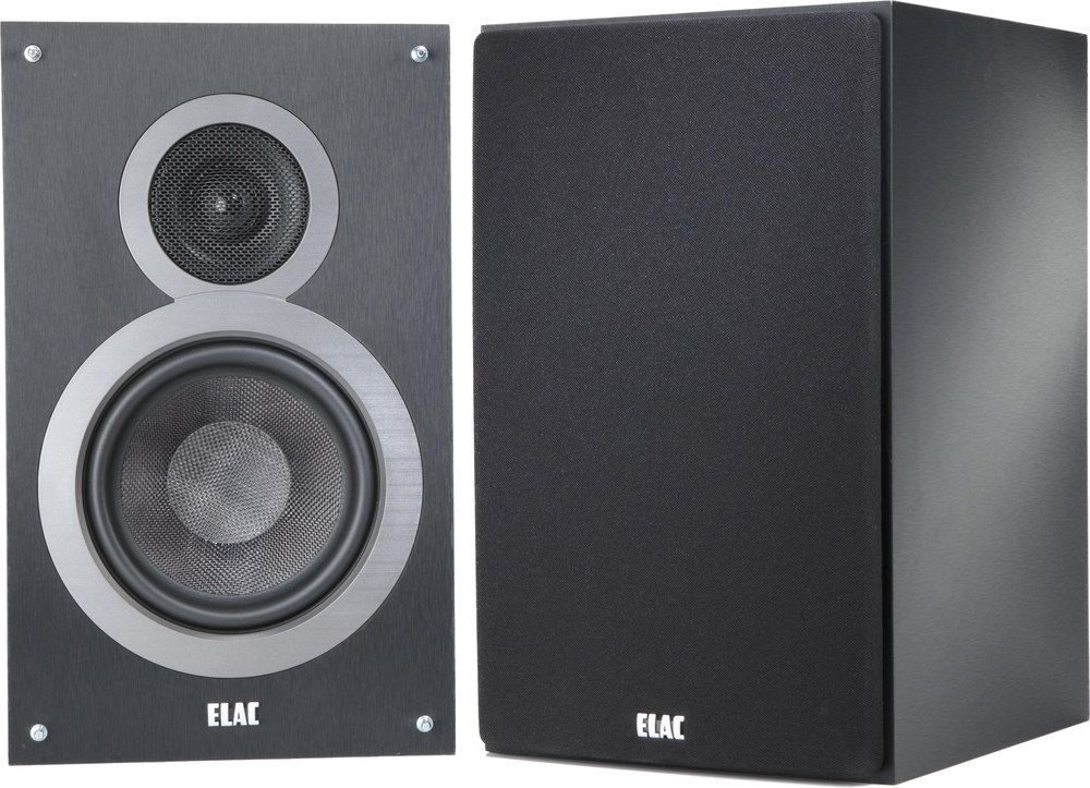 Room Filling Sound With Great Bass The Debut B6 Bookshelf Speakers Offer Incredible For Music And Movies ELACs Deliver