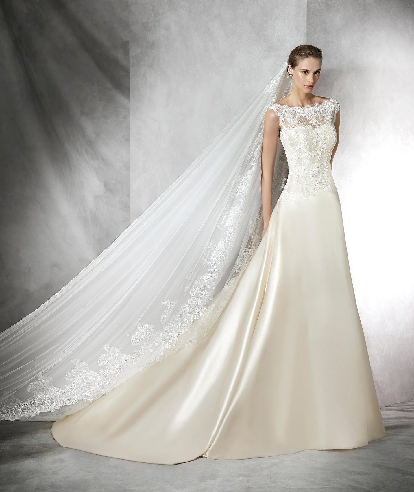 TARIFA - Sexy Brautkleid mit herzförmigem Dekolleté | Taffeta ...