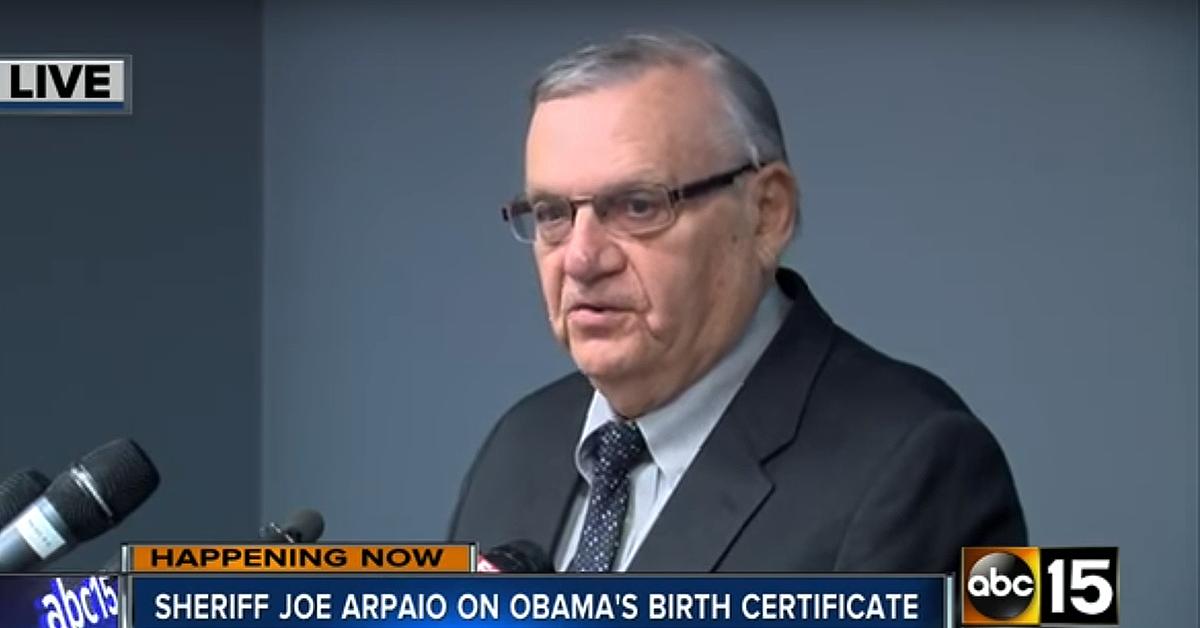 arpaio obama birth certificate | Political | Pinterest