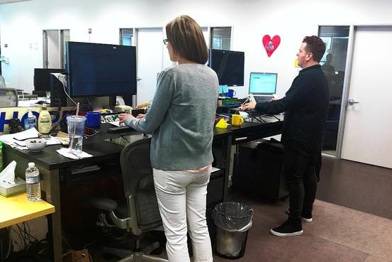 Standing Desks Are on the Rise Desks