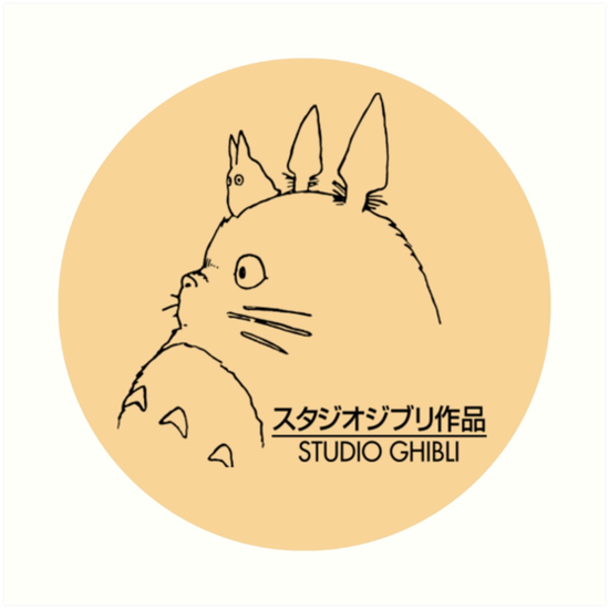 Millions Of Unique Designs By Independent Artists Find Your Thing Estudio Ghibli Ghibli Estudio