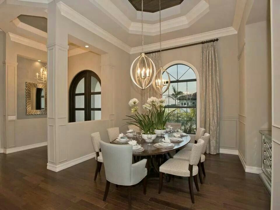 Front Door Entrance Hallway Dining Room Open Concept Home Entry Foyer Pinterest
