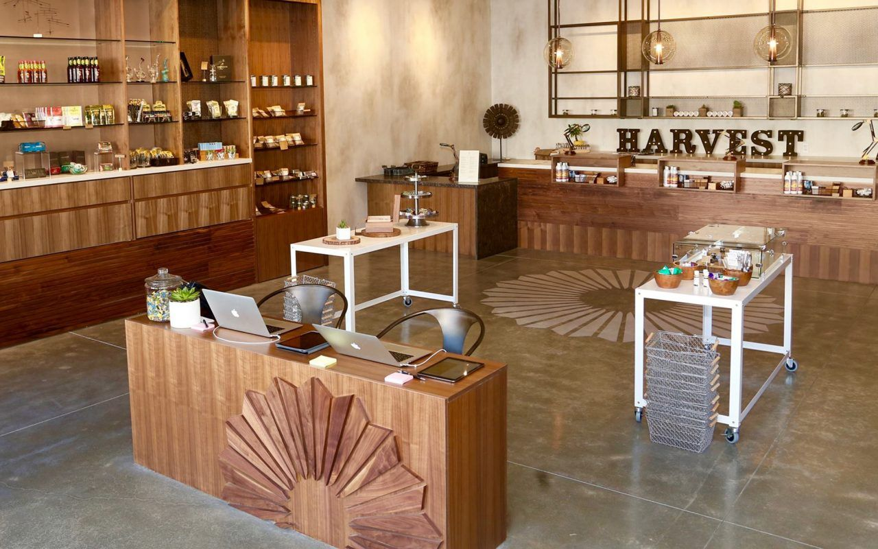 Harvest's Beautiful Medical Marijuana Dispensary Design in San Francisco California