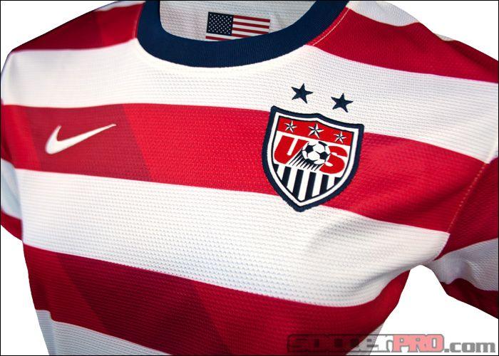 5924eaaaebf45 Nike Womens USA Home Jersey 2012-2013... 76.49