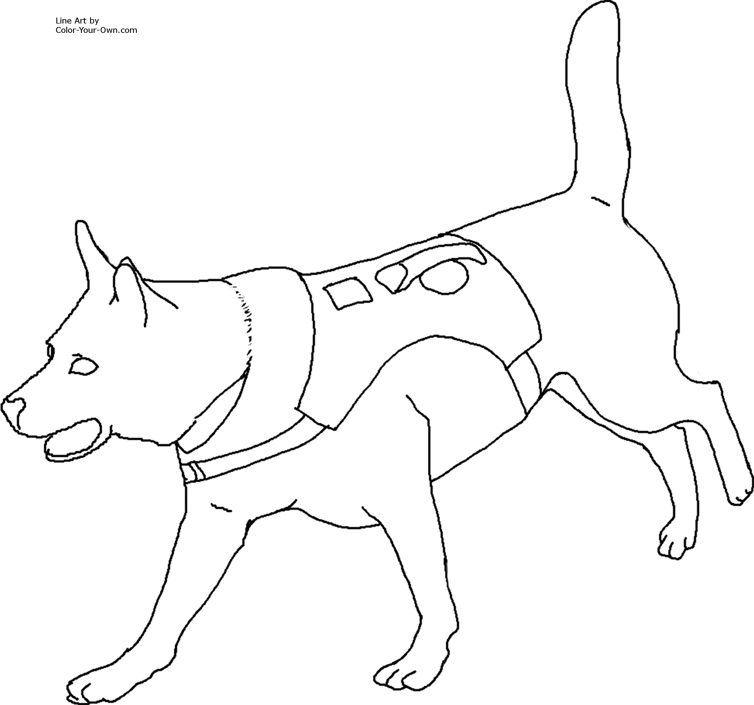 Free dog coloring pages images jpg 2569x2400 pixels dog