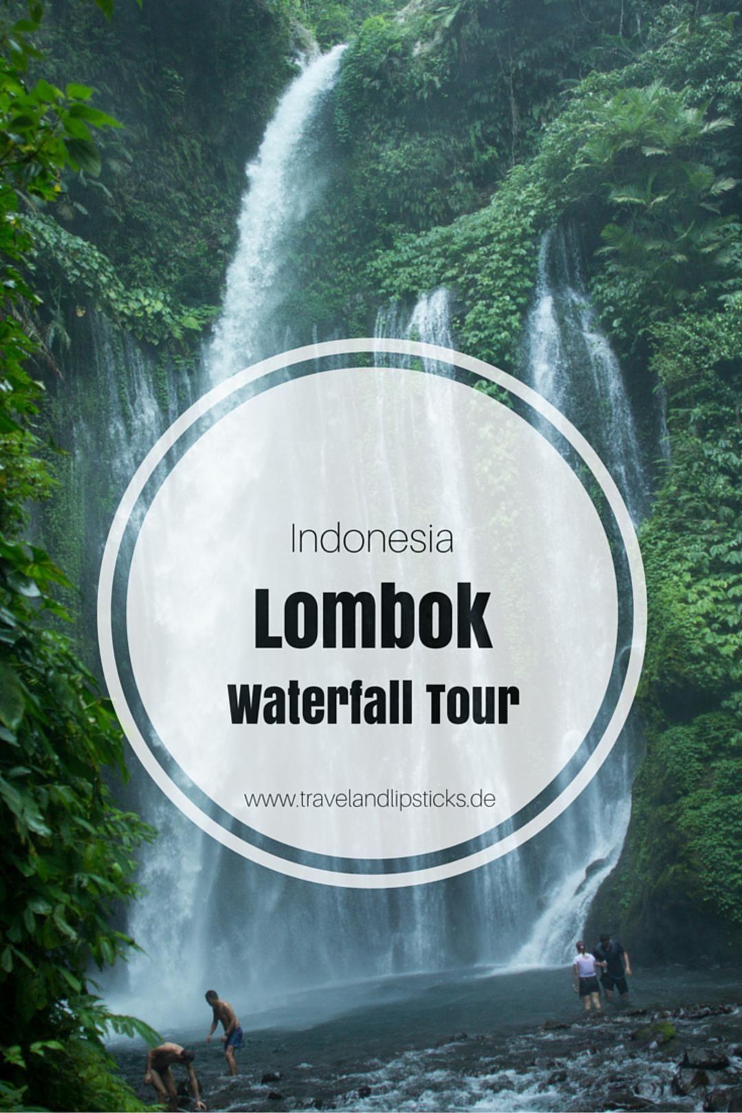 Wasserfall Tour Auf Lombok Bali Indonesie Indonesie Bali