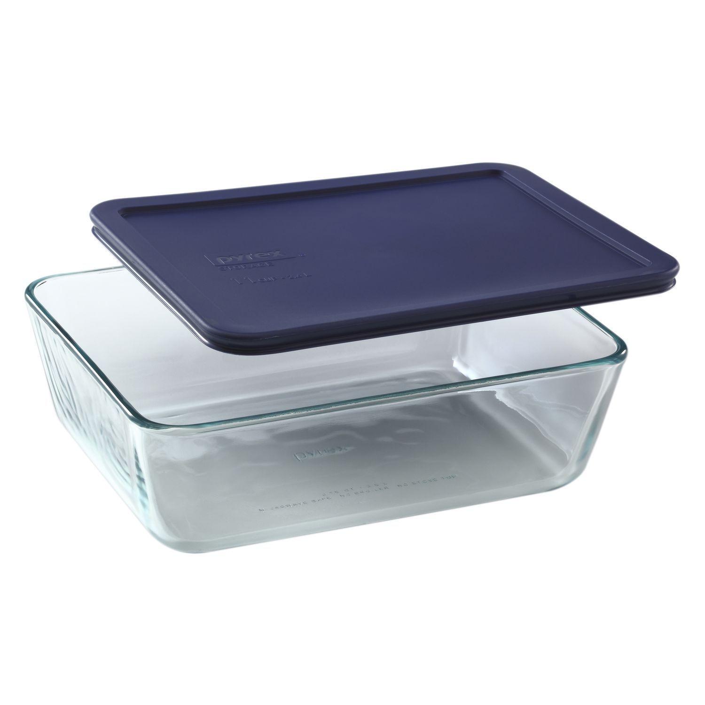 Pyrex Rectangular Storage Dish 11 Cup Glass Food Storage Pyrex Food Storage Containers