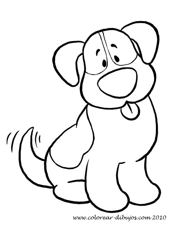 Perro Mamifero Canino Animales Infantiles Dibujos Para