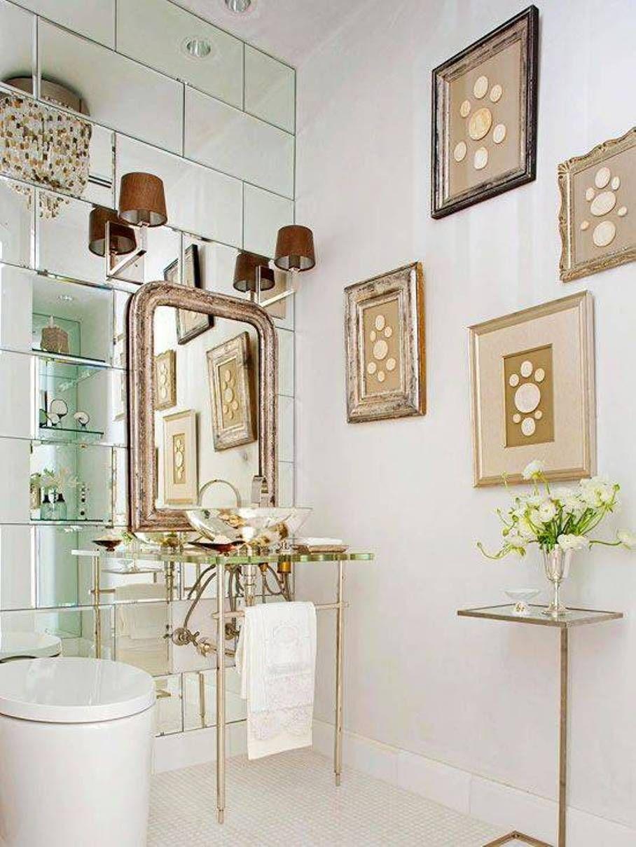 Art Deco Bathroom, GreenMuze Home Inspiration | Homing Instincts ...
