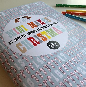 Mini Makes Countdown To Christmas Craft Activity Book Craft