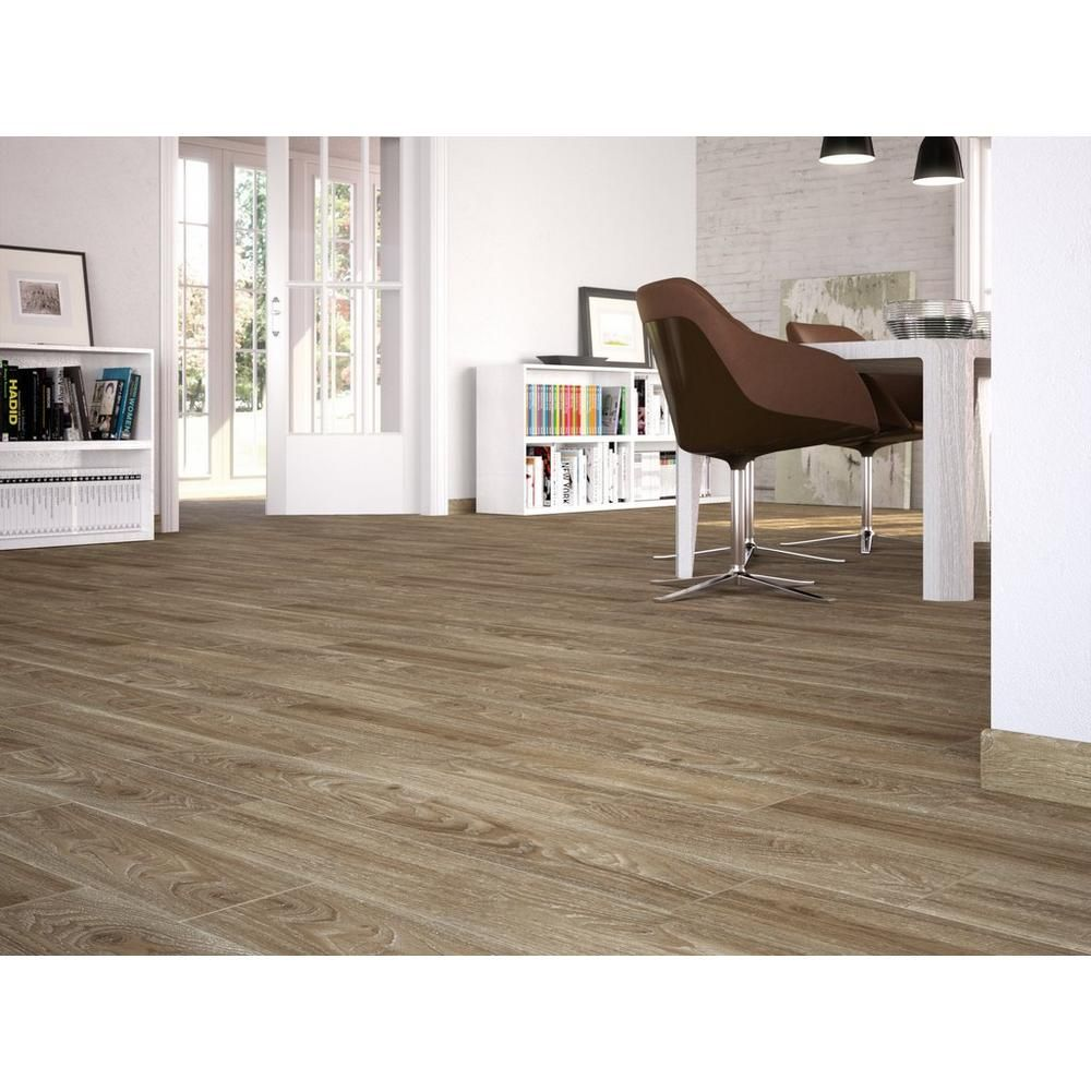 94/sq ft - floor - cumberland cafe wood plank ceramic tile - 7in