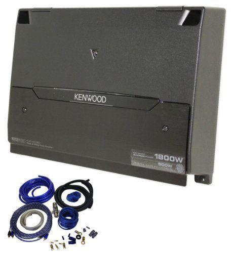 Package: Kenwood Kac-9105d 1800 Watt Mono Cl D Amplifier ... on