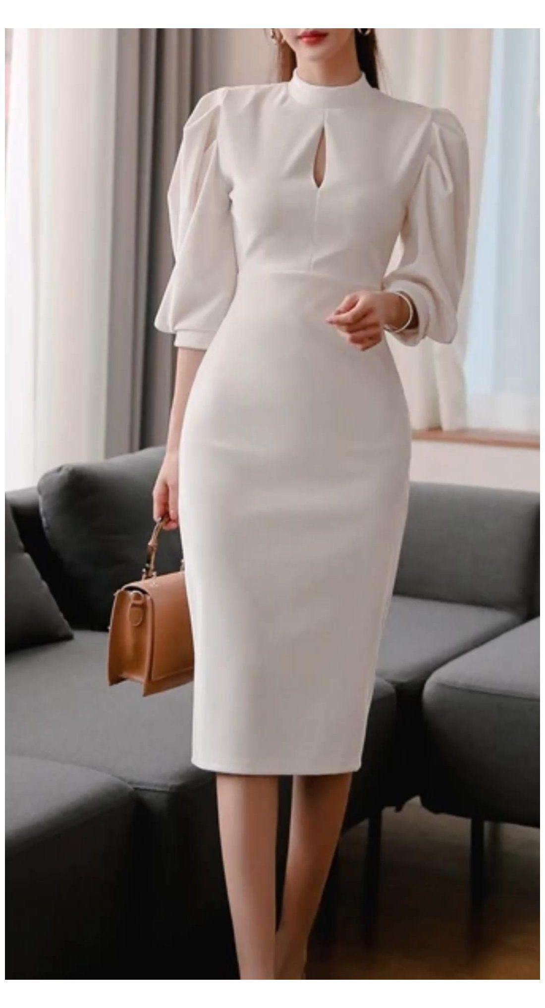 vestidos formales trabajo