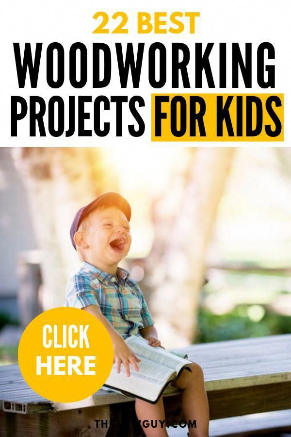 Woodworking is a hobby that extends to all generations. Looking for a DIY activity for you kids that you can bond over with? If you like woodworking projects, you will like our list of 26 of the best woodworking projects that are kid-friendly. Click on and save!  #theswaguy #woodworkingbasics #woodworking101 #projectsforkids #activitiesforkids #WoodworkingPlansBed