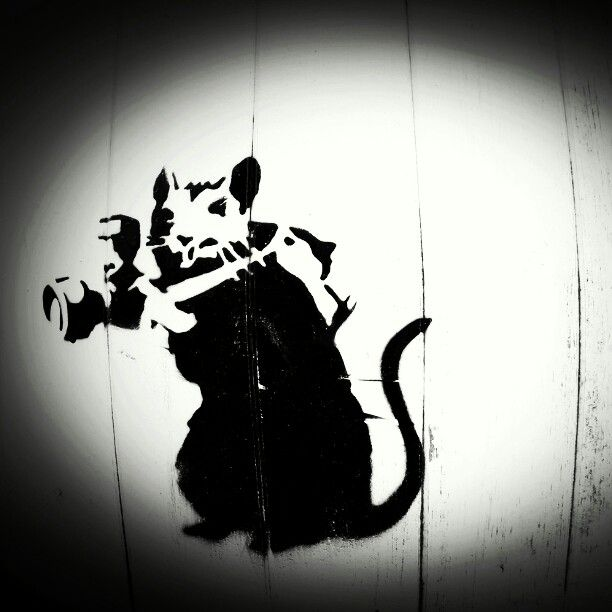 Street art in Southport #ratty
