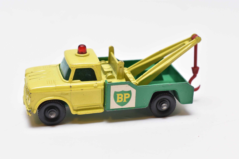 Matchbox Lesney No. 13 Dodge Wreck Truck, BP Tow Truck