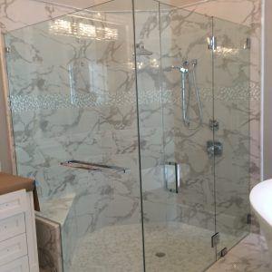 Hanging Towel Rack On Glass Shower Door Frameless Shower Doors Shower Doors Shower Door Handles