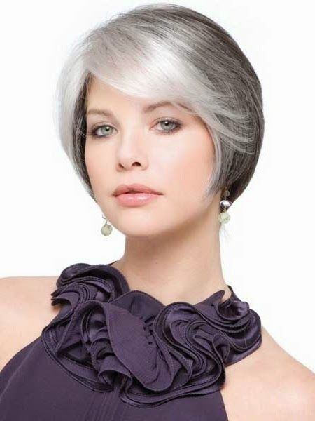Short Haircuts For Straight Hair Older Women Fashion Pinterest