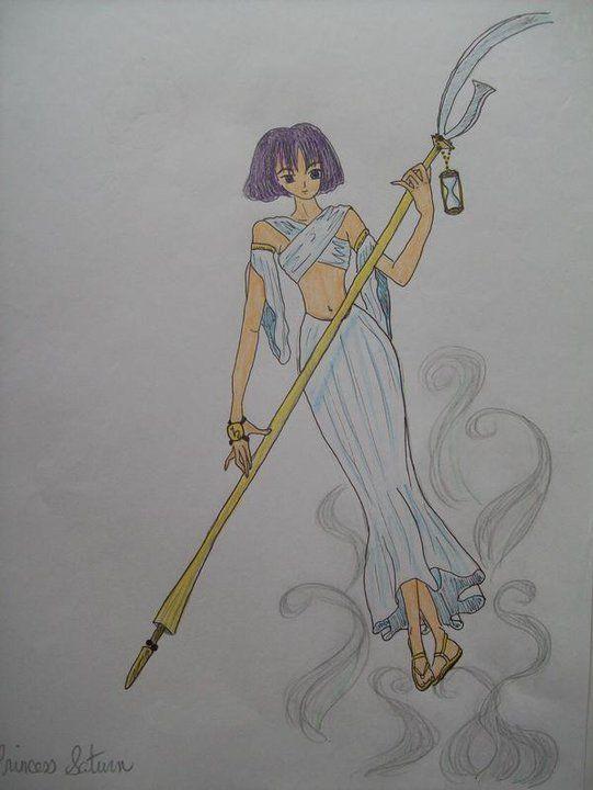 Warrior Princess Saturn by autumnrose83 on DeviantArt