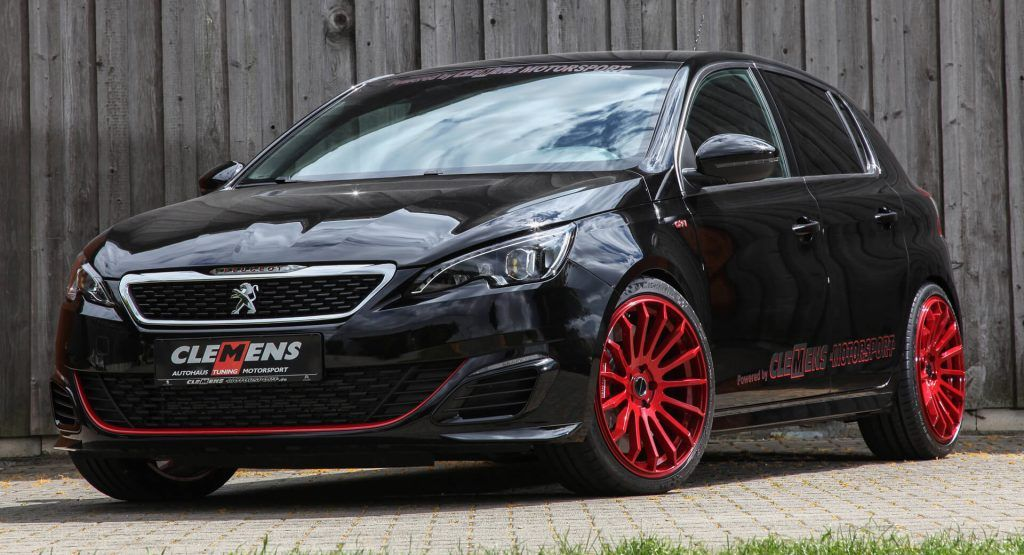 310 Ps Peugeot 308 Gti Breathes Down The Neck Of Vw Golf R Peugeot Peugeot 308 Gti