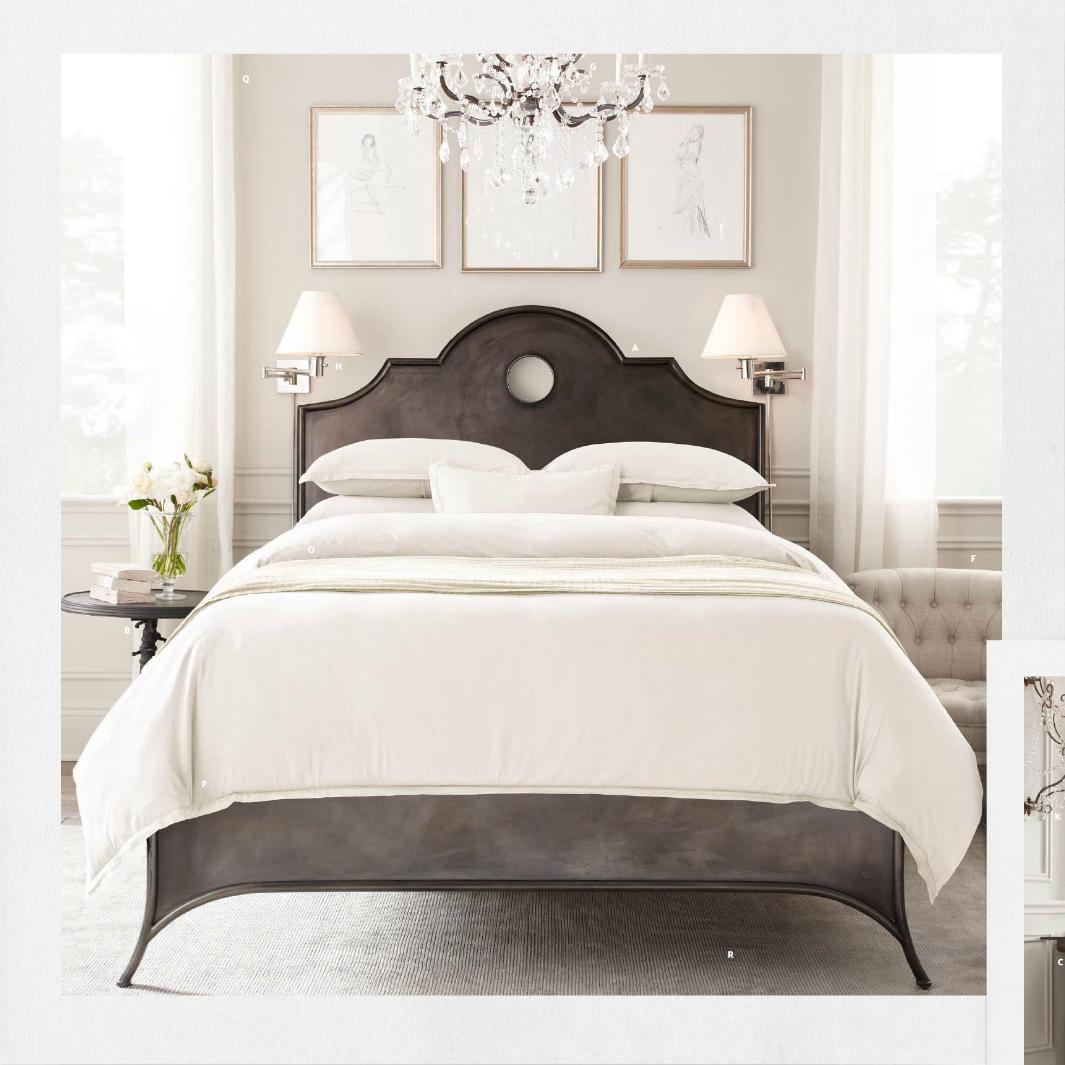 20 Chic Modern Bed Designs Restoration hardware bedroom