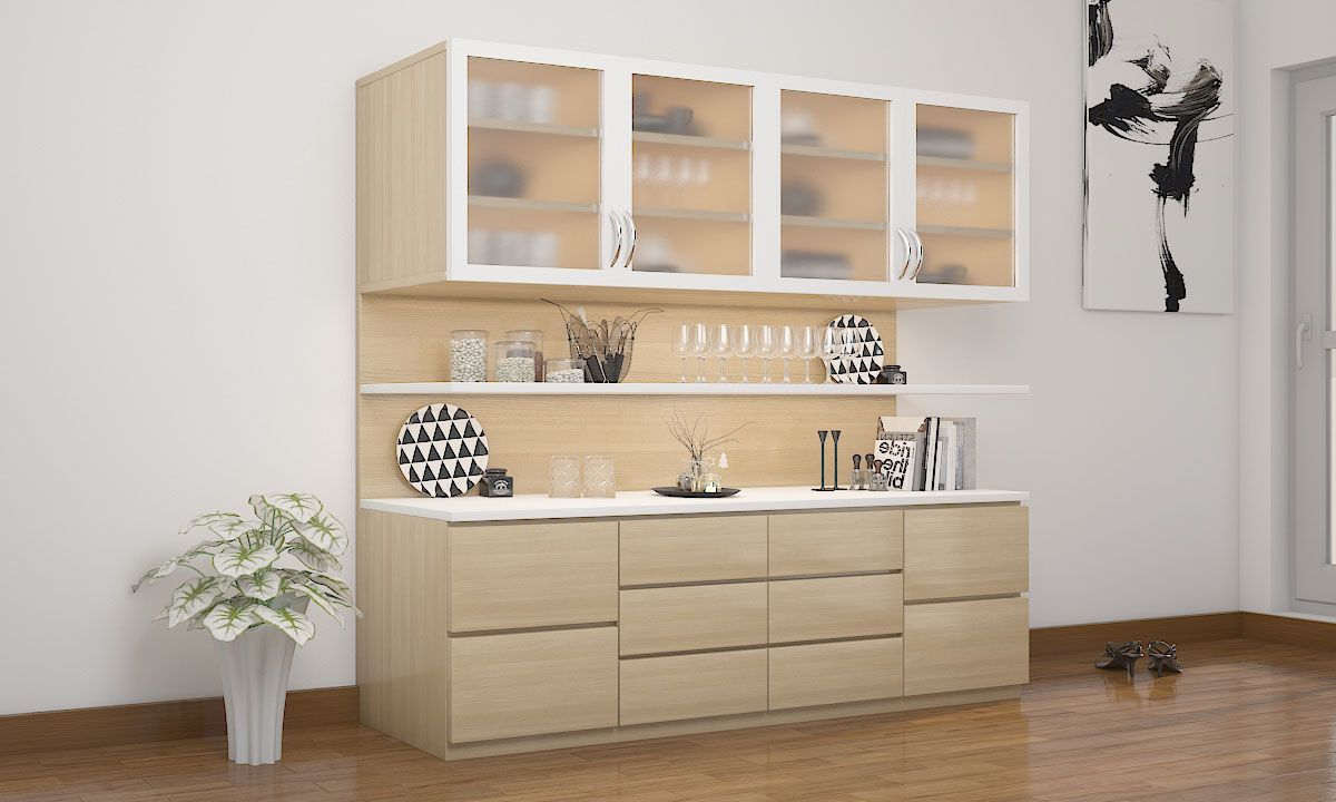 Geschirr Modernes Design Romana Crockery Unit | Kk In 2019 | Crockery Cabinet