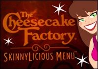 Cheesecake Factory Skinny Menu---is there such a thing? Yep! health-and-fitness