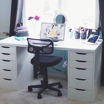 Linnmon Top With 2 Alex Drawer 150cm Top Desk Ikea Alex Desk Ikea Alex