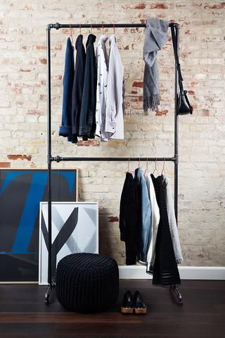 Danish Design Clothes | Cool Clothing Rack From Rackbuddy Danish Design Apartment In
