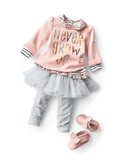 Love this cute outfit from baby gap | Girl outfits, Baby ...