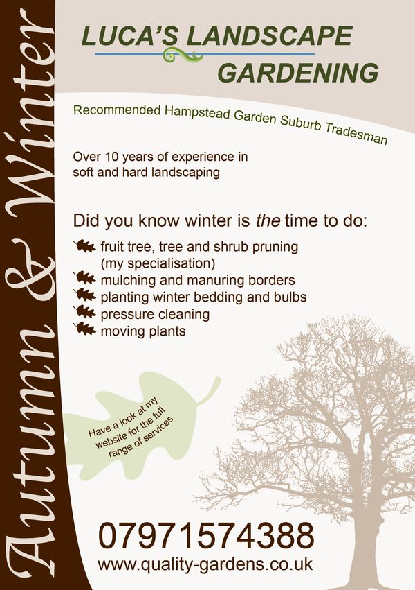 Landscaping Business Flyers Pinterest