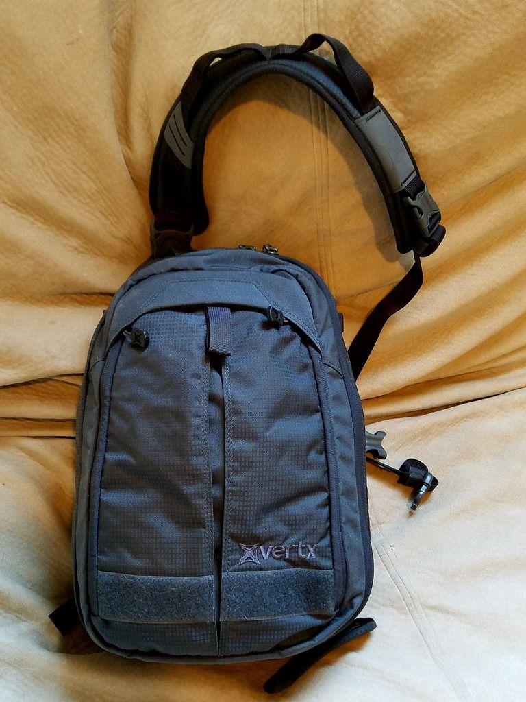 d8d91846fb13 Pack Review - Vertx Transit Sling | EDC Bags & Packs | Edc bag ...