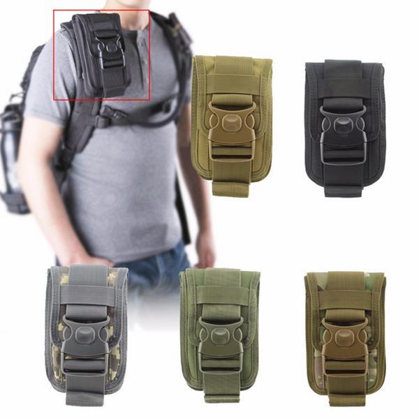 82b4708b16d2 Men Tactical Molle Pouch Outdoor EDC Utility Gadget Belt Waist Bag ...