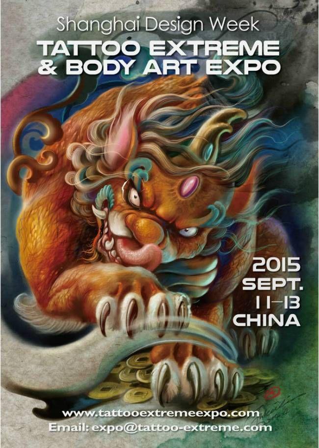 1st Shanghai Tattoo Extreme & Body Art Expo   Tattoo Filter ...