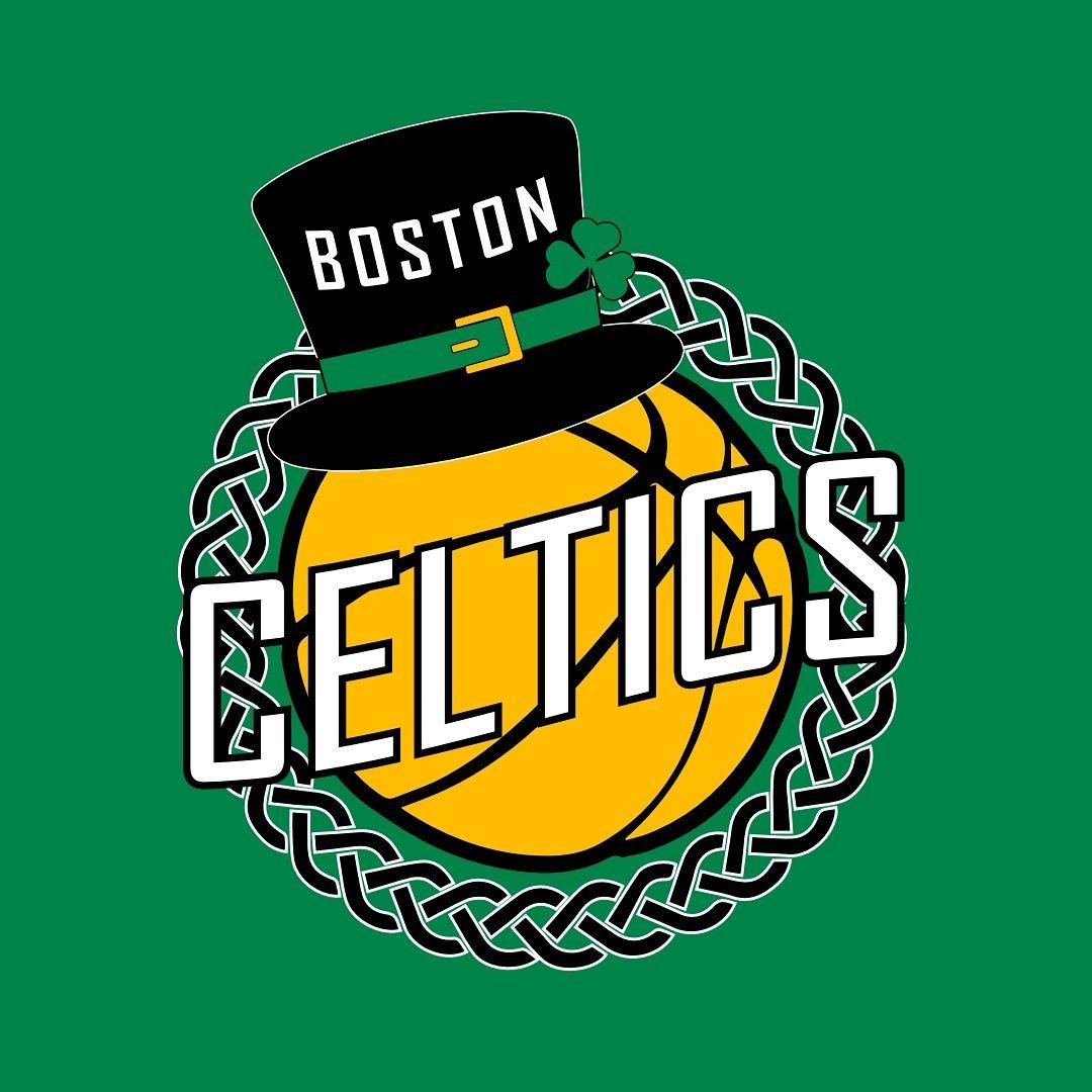 Boston Celtics Logo Redesign Sport Personaggi Squadra [ 1080 x 1080 Pixel ]