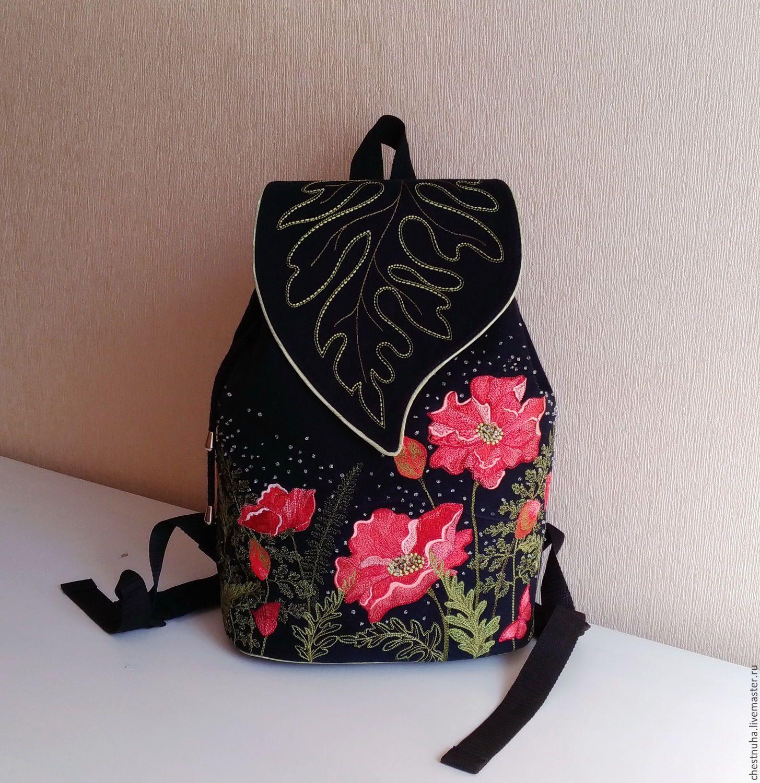 6d750c3f3325 Купить Рюкзак джинсовый женский Винтажный этюд - рюкзак, рюкзак ручной  работы, рюкзак женский