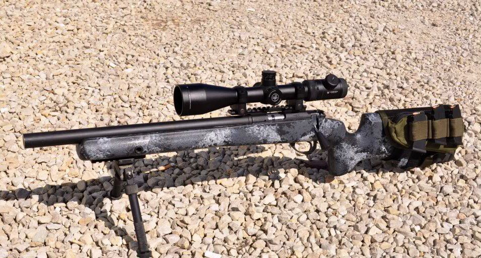 Internally suppressed CZ 452 in a Manners T4 stock, so nice