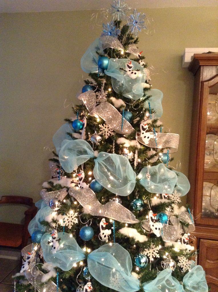 Olaf Christmas Tree 2014 Holiday Decor Pinterest