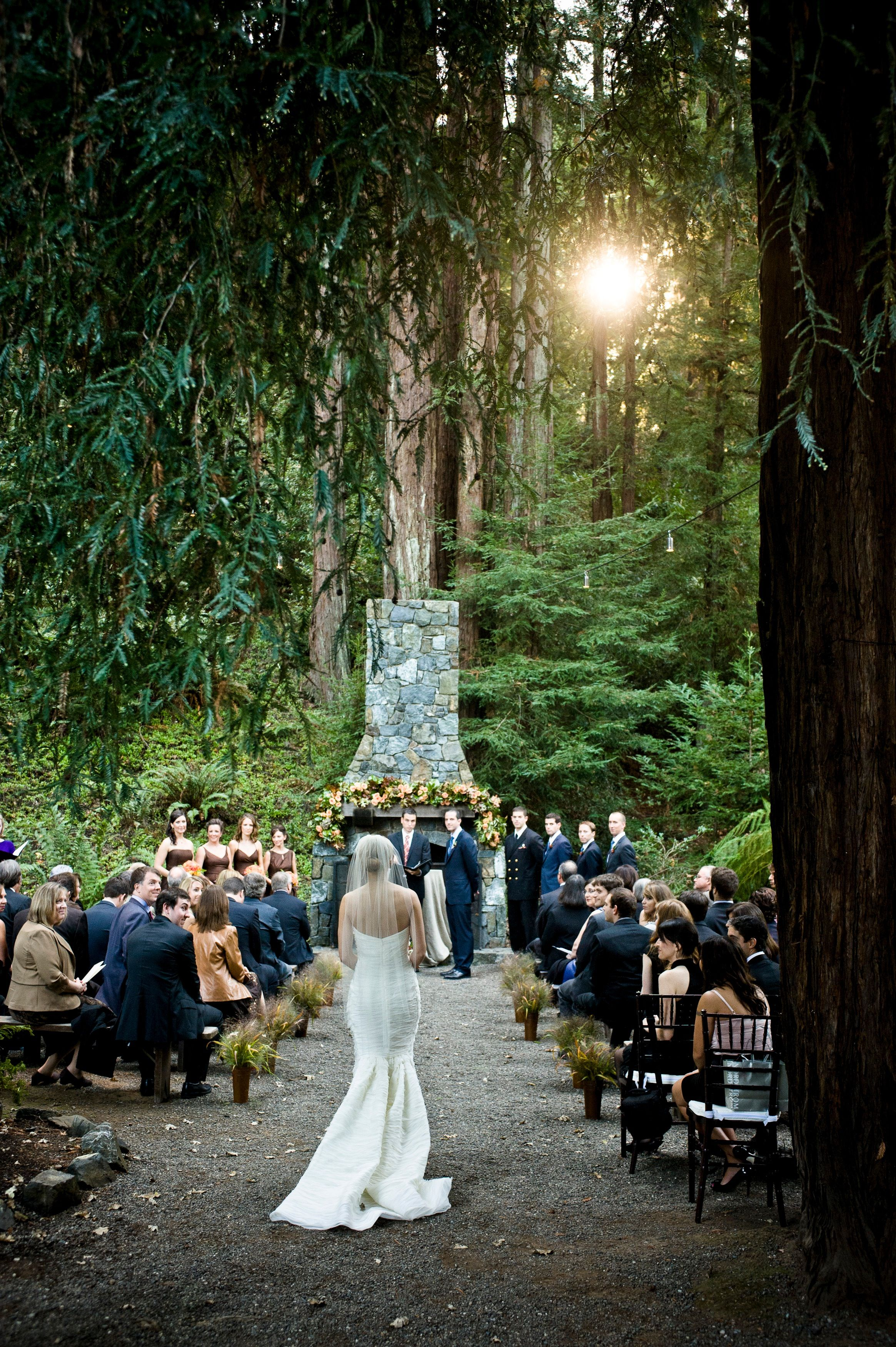 California Wedding Marin San Francisco Redwood Sarah Drake Design