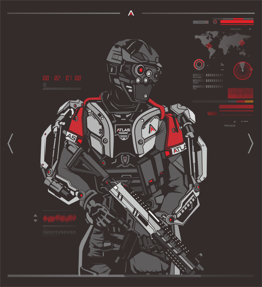 ATLAS Suit - Call of Duty: Advanced Warfare - Eka Perdana