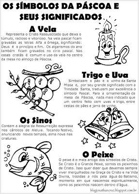 Simbolos Da Pascoa Significados E Atividades Com Imagens