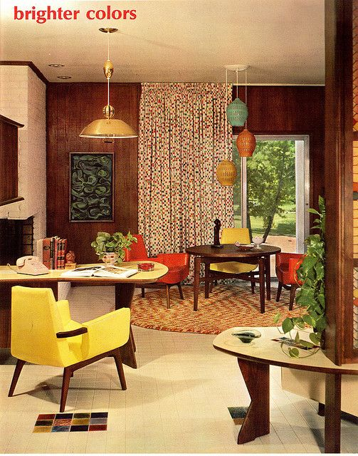 Betty Pepis Interior Decoration A To Z 1 Mid Century Modern Interior Design Mid Century Modern Interiors Vintage Interior Design