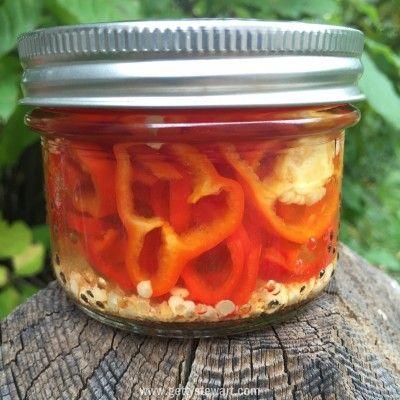 Hot Pepper Rings Recipe Stuffed Hot Peppers Stuffed Peppers Pickled Hot Peppers