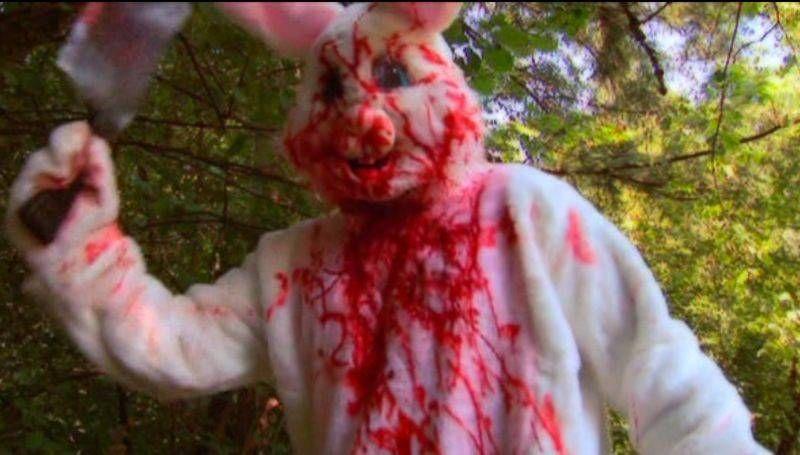 Easter Bunny Bloodbath 2010 Bloody Rabbit Horror Easter