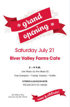 grand opening flyer design pinterest restaurant flyer flyer
