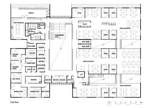 Primary health care centre plan