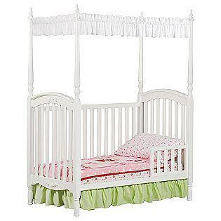 Lil Princess Canopy Crib White- Delta Childrens $199.99 Lesleyu0027s New Toddler ...  sc 1 st  Pinterest & Lil Princess Canopy Crib White- Delta Childrens $199.99 Lesleyu0027s ...